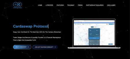 Cardaswap.financeは、カルダノブロックチェーンのユニスワップになることを決意表明しました